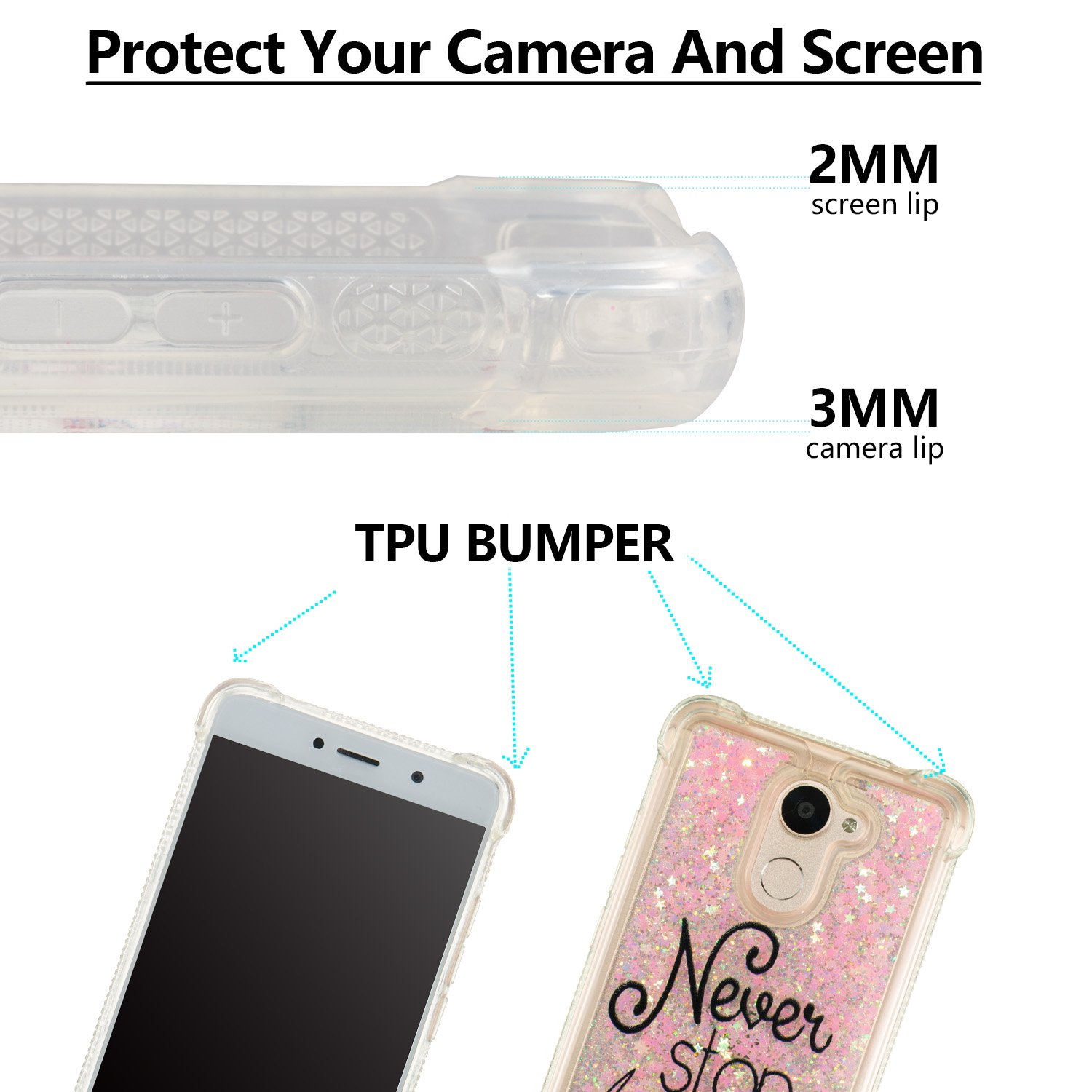 Amazon.com: Huawei Y7 Prime Case,DAMONDY 3D Pattern Cute ...