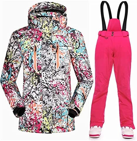 Traje de esquiar Esquí de invierno juego de las mujeres 10K ...