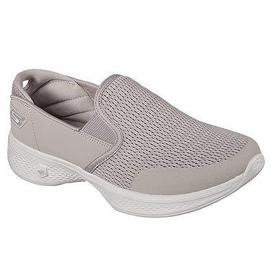 Skechers Go Walk 4 Attuned, Zapatillas sin Cordones para Mujer