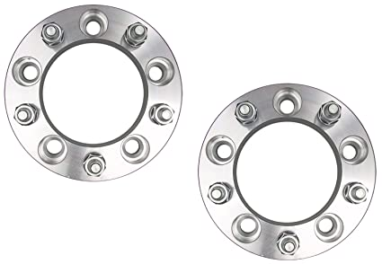 Pair Ford Edge Wheel Spacers Adapters   Inch With A X  Bolt Pattern