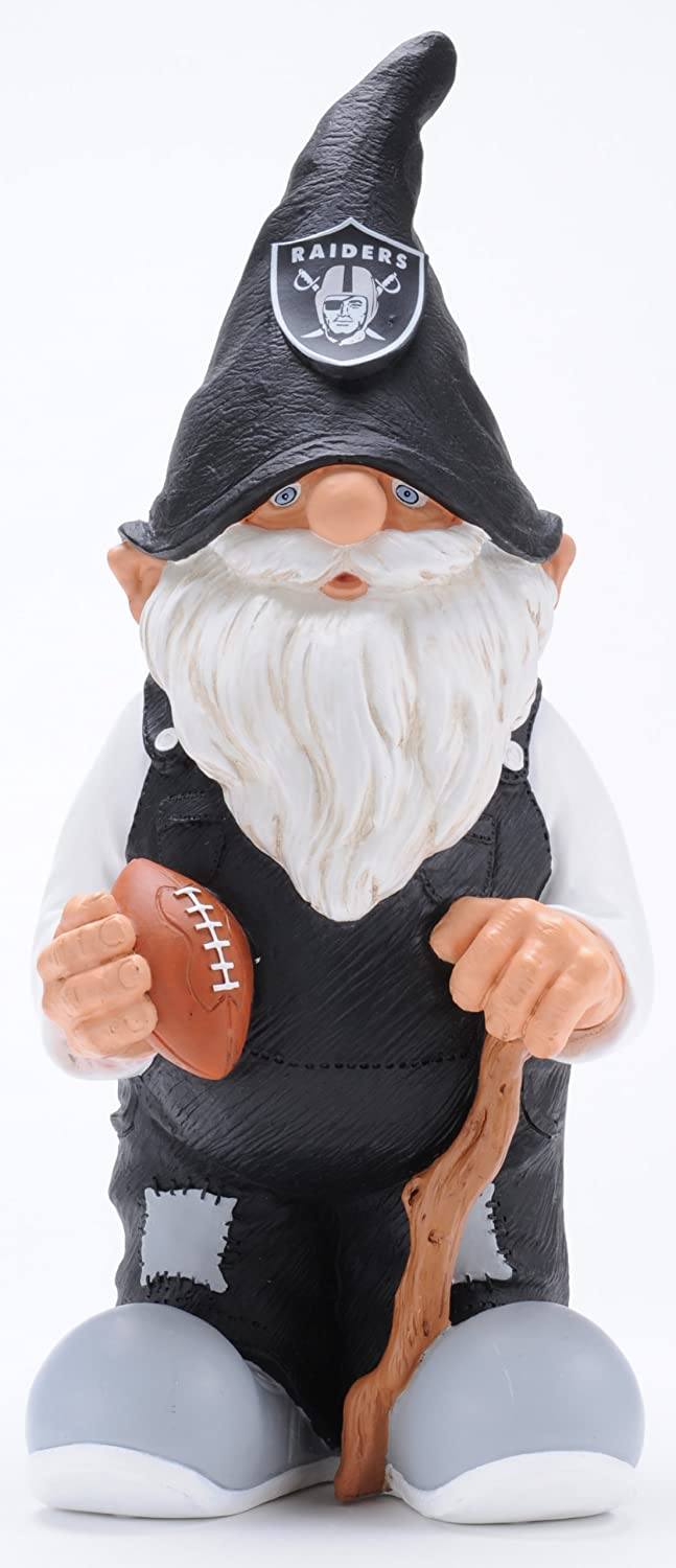 Forever Collectibles NFL Oakland Raiders Garden GNOME Columbus Sports GNNCTH