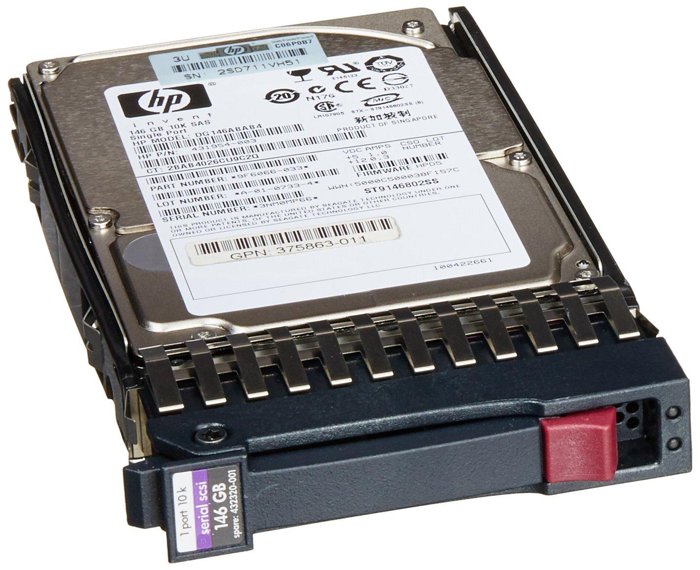 HP 146GB-10K-SAS-2.5-HP