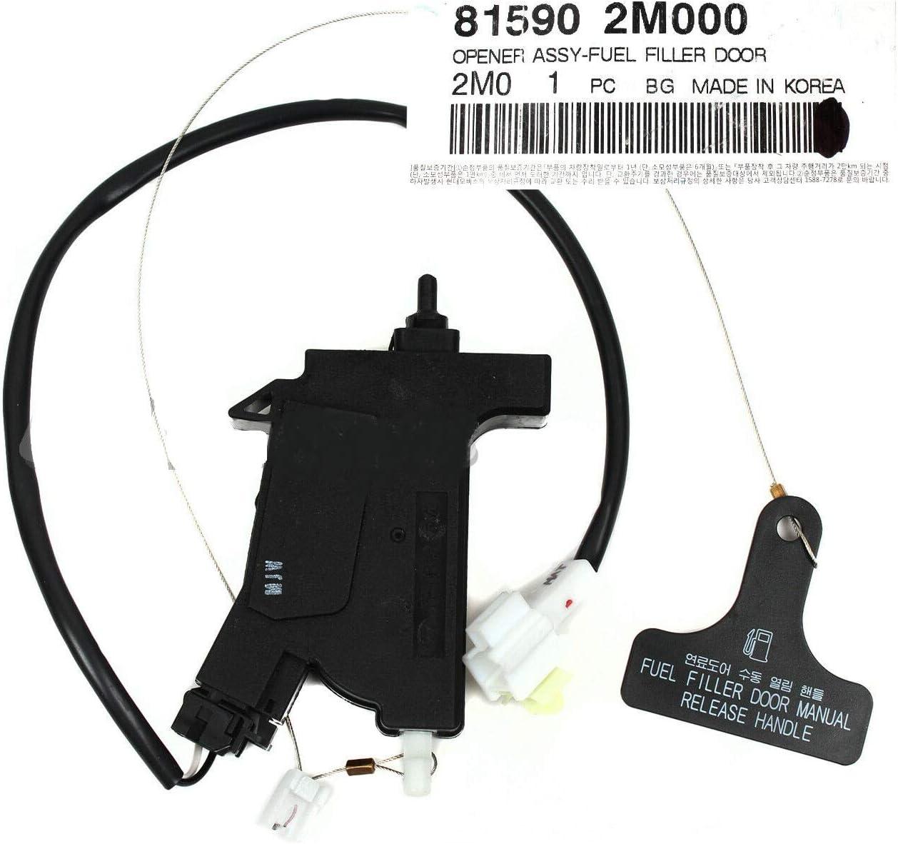 GENUINE Fuel Filler Door Cable for 10-16 Hyundai Genesis Coupe OEM 815902M000