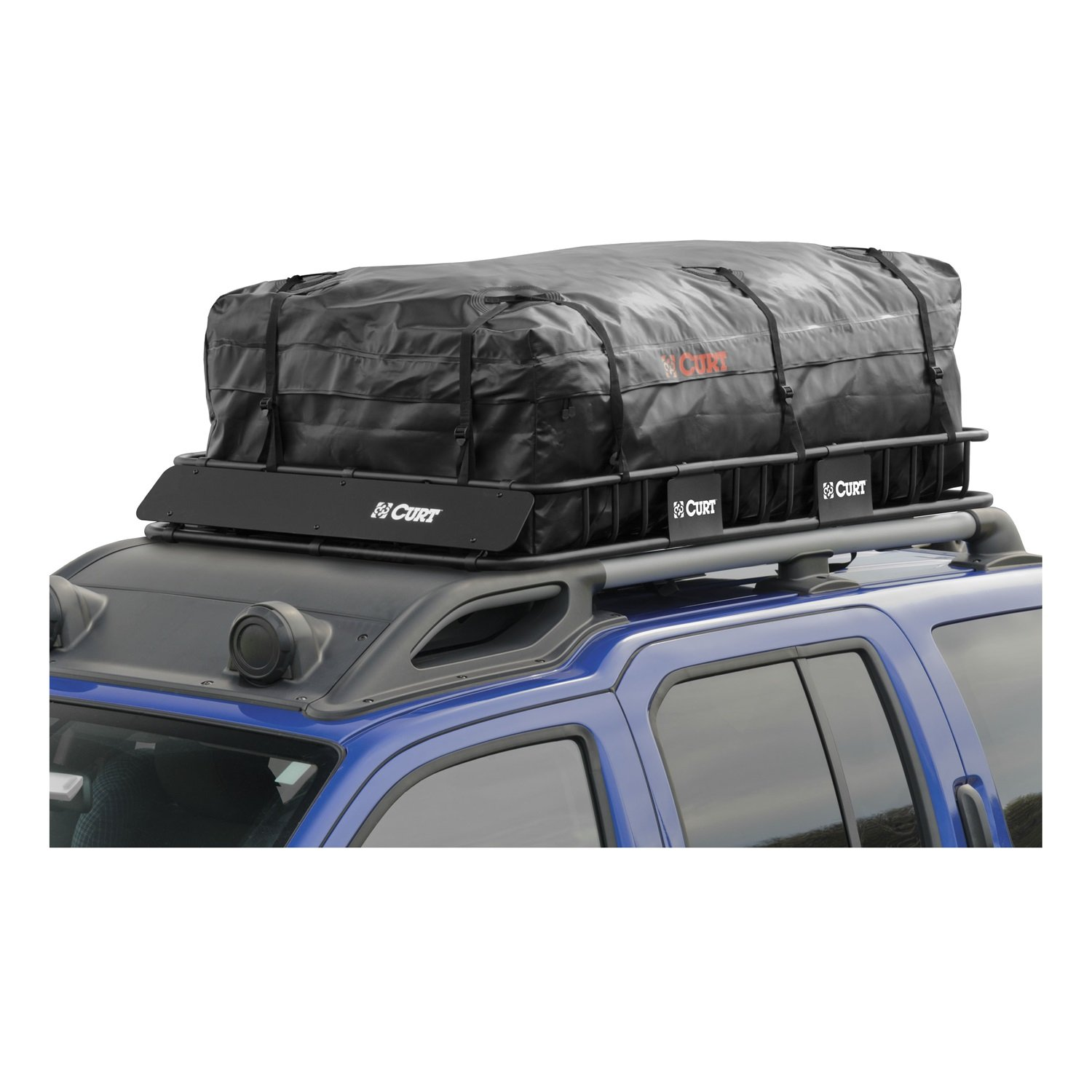 CURT 18221 Extended Roof Rack Cargo Bag by Curt Manufacturing