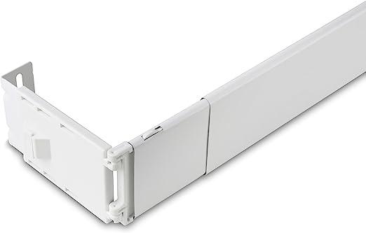 Amazon Com 2 1 2 Wide Pocket Curtain Rod 84 156 Inch Home Kitchen