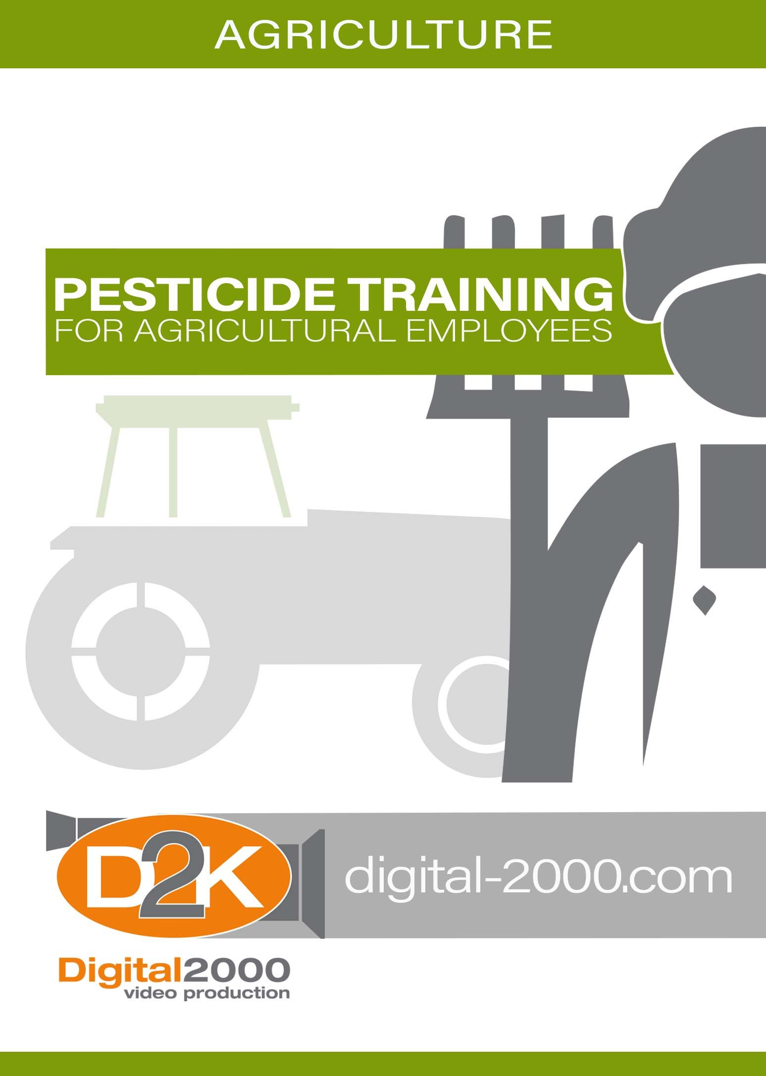 Pesticide Training For Agricultural Employees (Agriculture) Safety Training DVD