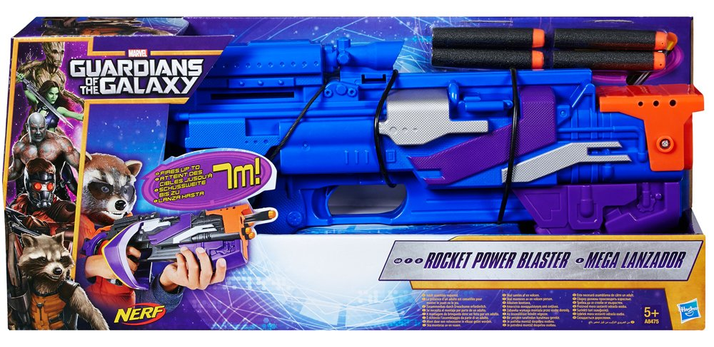 Guardians of the Galaxy NERF Rocket Raccoons Power Blaster