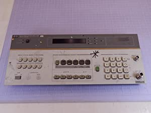 HP, Hewlett Packard 8901A Modulation Analyzer Front Panel T95643