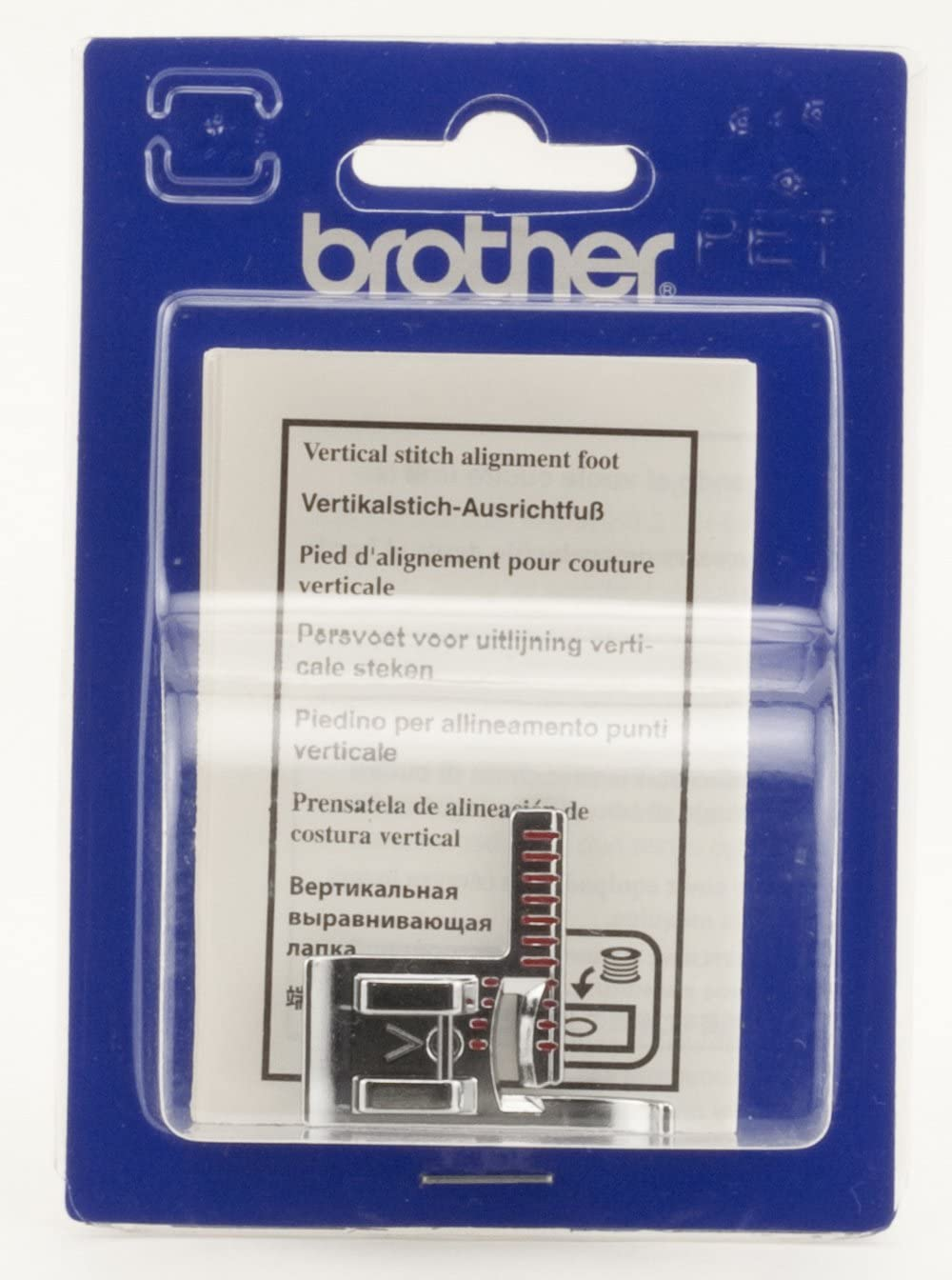 Brother SA189 Vertical Stitch Alignment Foot