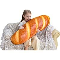 Global Tronics 102 cm baguettkudde brödform mjuk korsrygg kudde rolig mat plysch fylld leksak för heminredning…