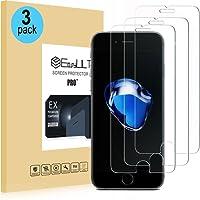 EasyULT [3-Pack] Vetro Temperato iPhone 7/iPhone 8, 3 Pack Pellicola Protettiva in Vetro Temperato Screen Protector per iPhone 7/iPhone 8