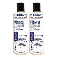 Scalp Psoriasis, Seborrheic Dermatitis & Dandruff Shampoo Plus Conditioner by DermaSolve...