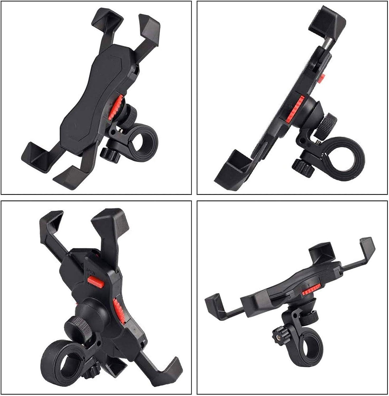 Soporte universal ajustable del tel/éfono soporte m/óvil de la bicicleta de la rotaci/ón 360/° para 3.5-6.5 en tel/éfonos