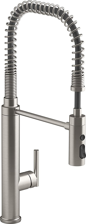 Kohler K-24982-VS Purist Kitchen Sink Faucet, Vibrant Stainless
