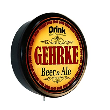 Amazon.com: GEHRKE Beer and Ale Cerveza Lighted Wall Sign: Home & Kitchen