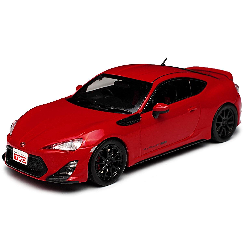 J-Collection Toyota GT86 TRD Performance Line Rot Ab 2012 1//43 Modell Auto mit individiuellem Wunschkennzeichen