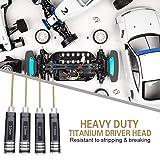 HRB 4pcs 1.5mm 2.0mm 2.5mm 3.0mm Hex Screw Driver