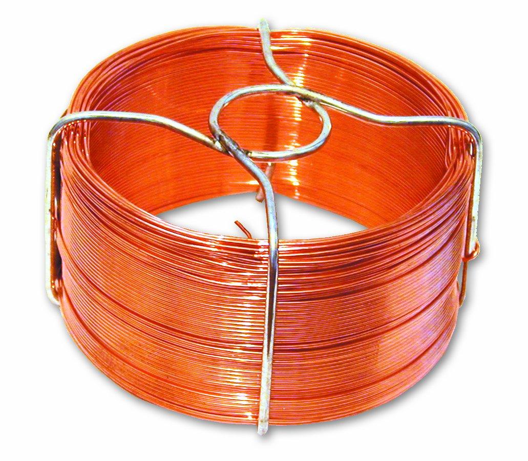 Filpack FGC08 Fil m/étallique cuivre D 0,8 mm L 50 m vitr/é