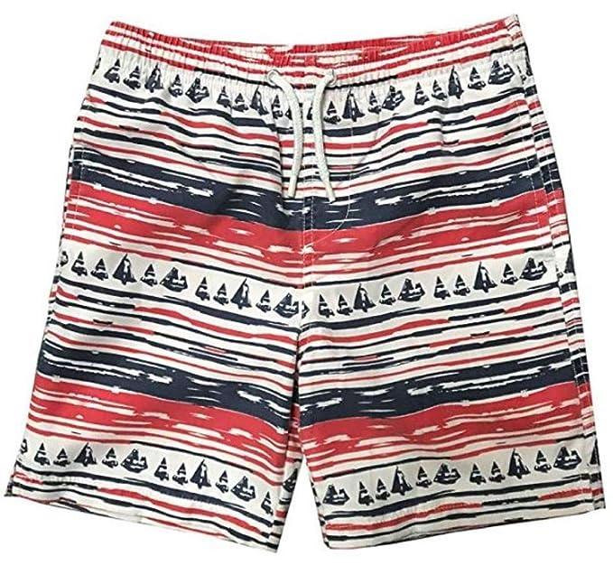 cd472b7db0 INGEAR Little Boys Quick Dry Beach Board Shorts Swim Trunk Swimsuit Beach  Shorts with Mesh Lining