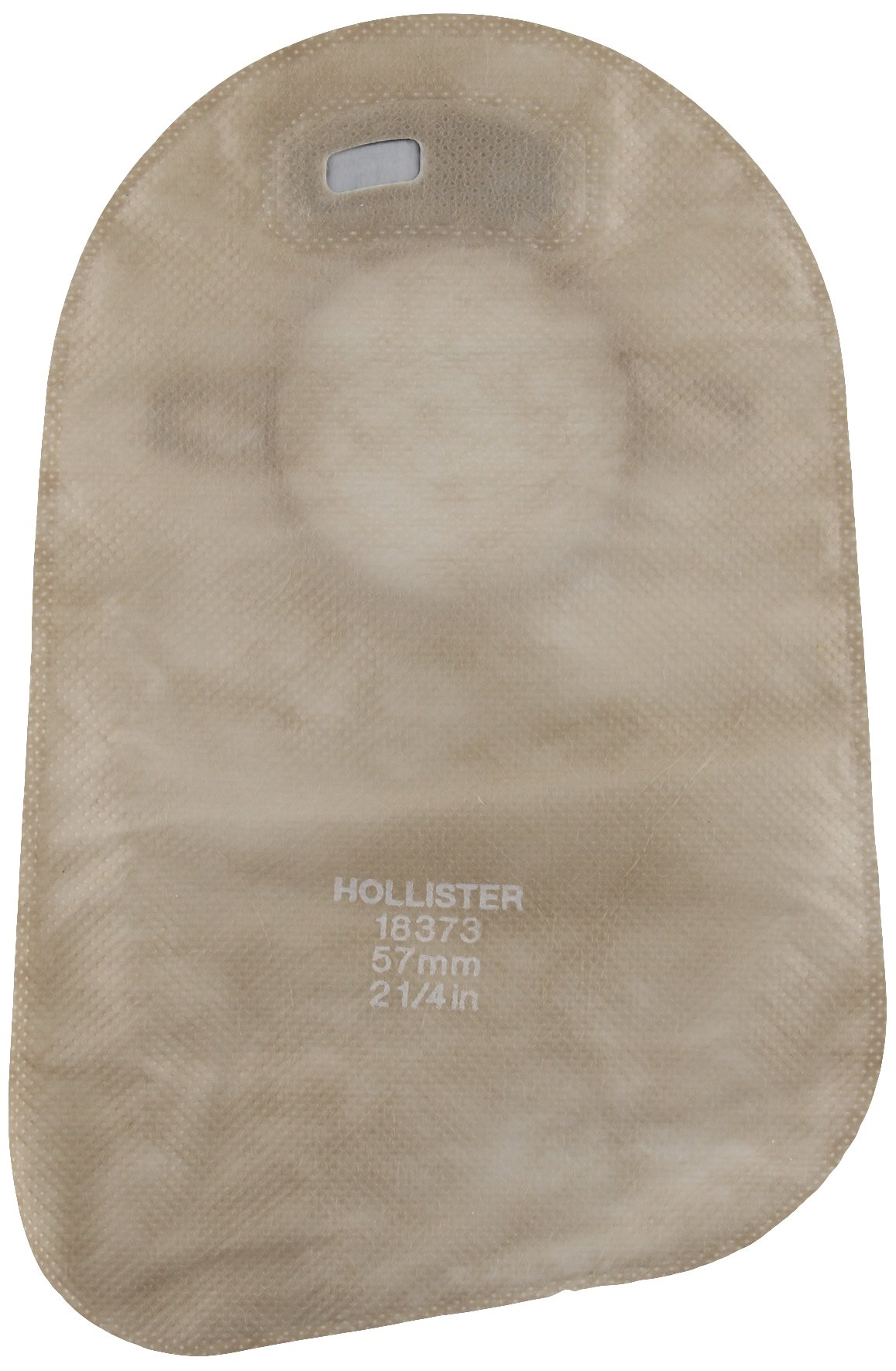 5018373 - Hollister Inc New Image 2-Piece Closed-End Pouch 2-1/4, Beige