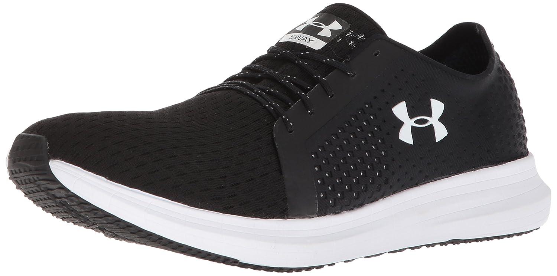 Under Armour UA Sway, Zapatillas de Running para Hombre 44 EU|Negro (Black/White)