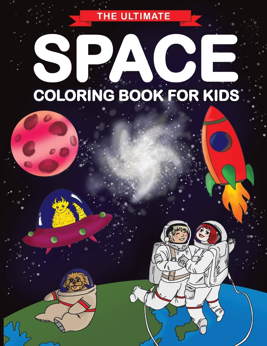 Ultimate Space Coloring Book Kids product image