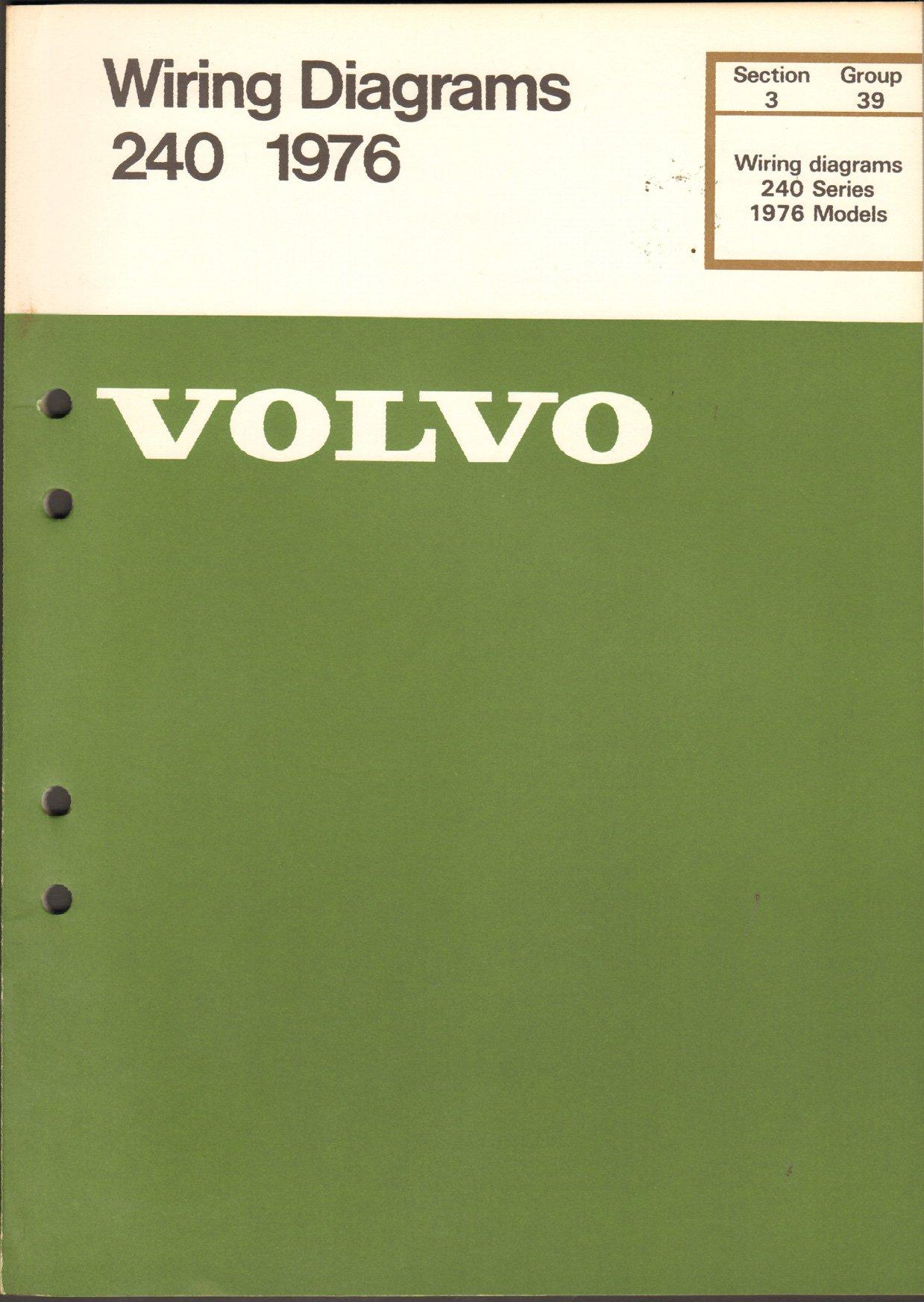 Volvo Wiring Diagrams 240 Series 1976 Model: Volvo: Amazon.com: Books | Volvo Amazon Wiring Diagram |  | Amazon.com