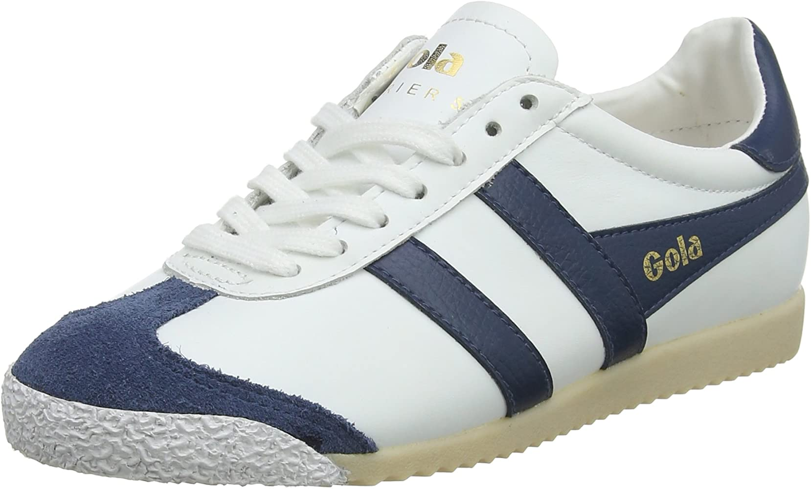 Harrier 50 Leather Trainers, White