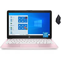 2021 Newest HP Stream 11.6-inch HD Laptop, Intel Celeron N4020, 4GB RAM, 64GB emmc, Windows 10 Home in S Mode with…