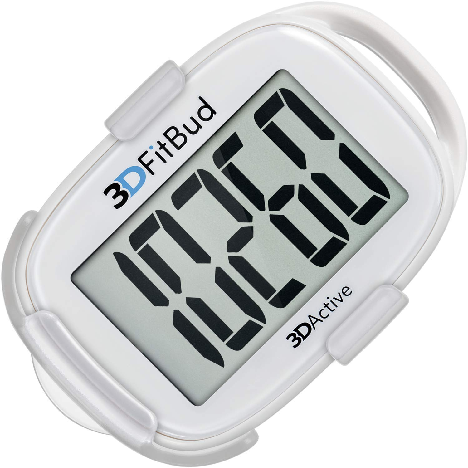 Buy 3DFitBud Simple Step Counter Walking 3D Pedometer with Clip and  Lanyard, A420S Online at Low Prices in India - Amazon.in