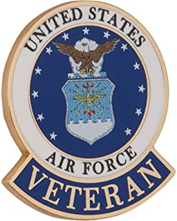 US Air Force Veteran  Pin 1.5 inch JACKET VEST hat  PIN