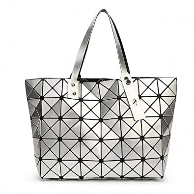 Bao Bao Issey Miyake NEW Fashion Bag Women Tote Fold summer Hand Bag Laser  Geometric Designer 18701d5868f55