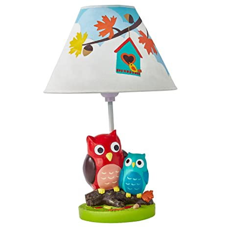 Amazon.com: Fantasy Fields Enchanted Woodland Owl Nursery Table Lamp For Kids  Room Décor: Toys U0026 Games