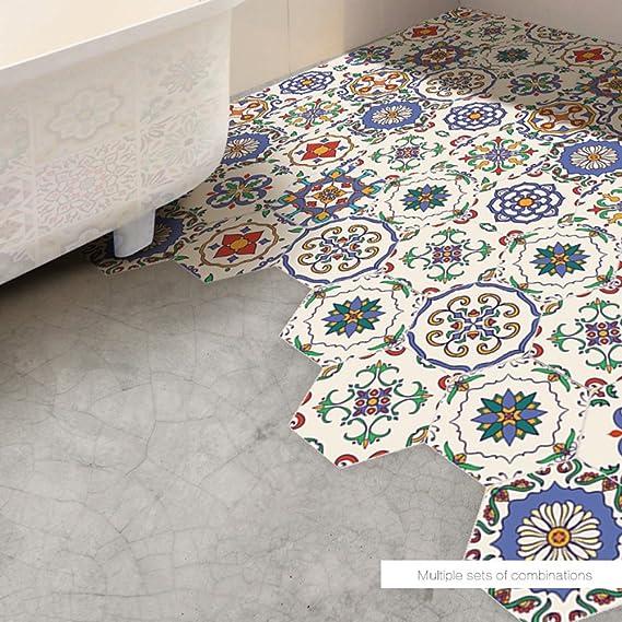 20 cm XOSHX Adesivo per Piastrelle Impermeabile in Marmo Grigio Impermeabile Decalcomania delle mattonelle della Decorazione della Cucina del Soggiorno 20 cm 24 Pezzi
