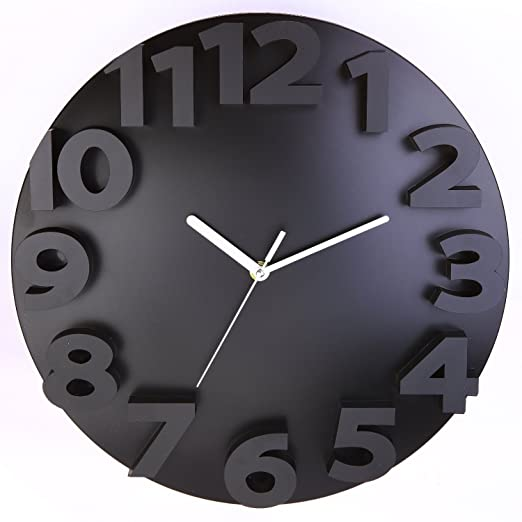 Krismile® Modern Contemporary 3D Wall Clock