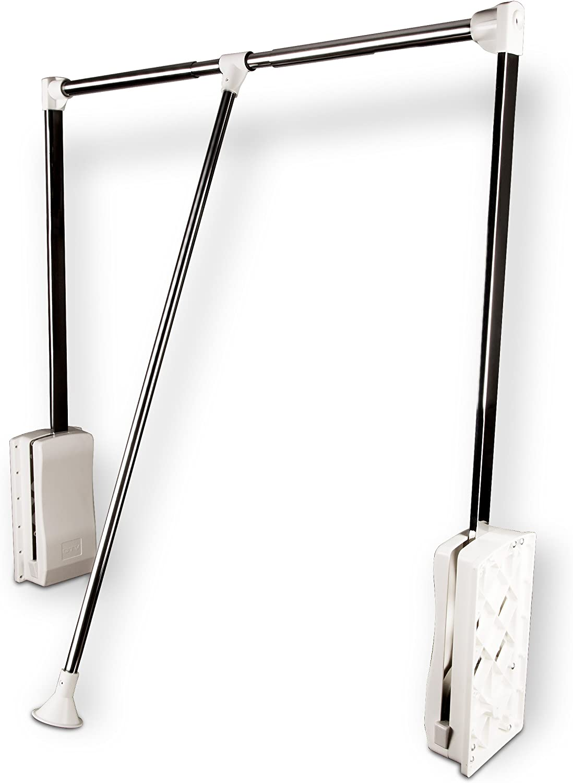 Sotech SO-TECH/® Kleiderlift schwarz Garderobenlift Kleiderstange Wardrobelift Lift Kleiderschranklift