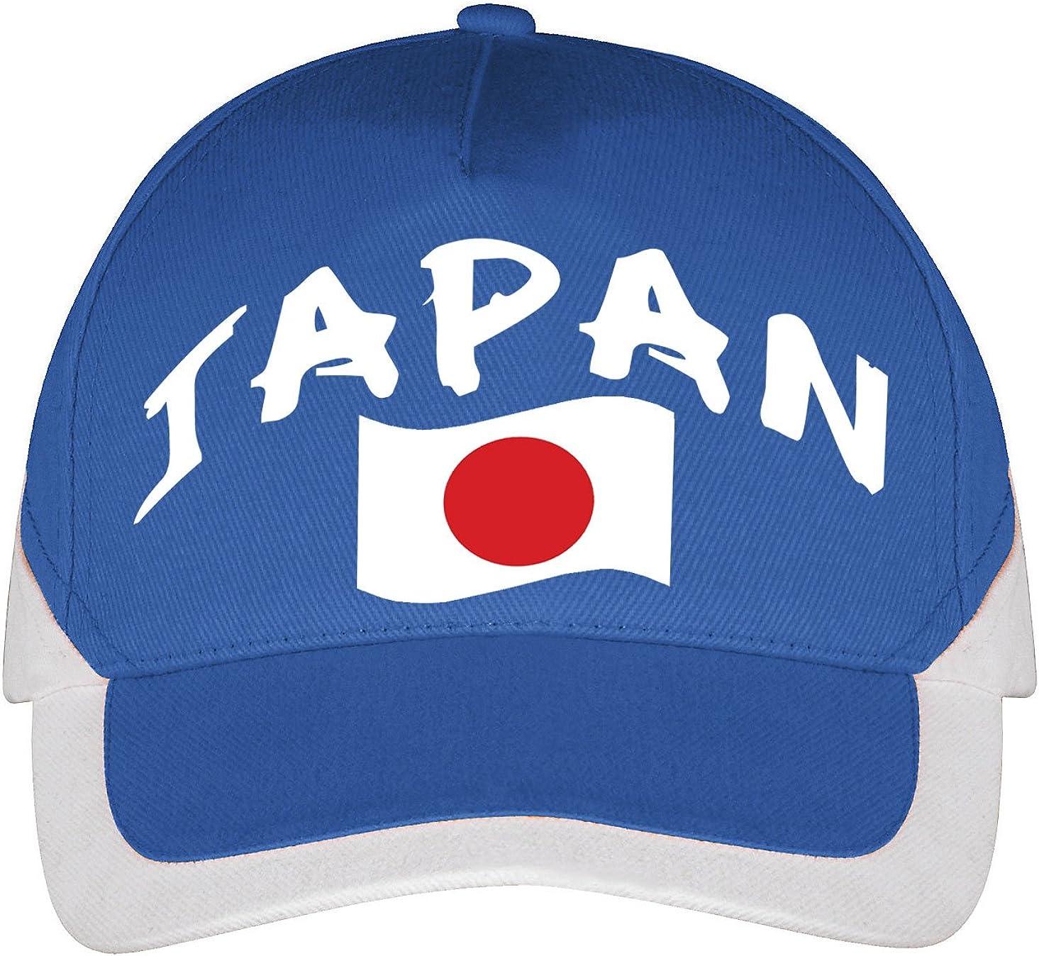 Supportershop – Gorra Japón fútbol, Azul, FR: Talla Unique (Talla ...