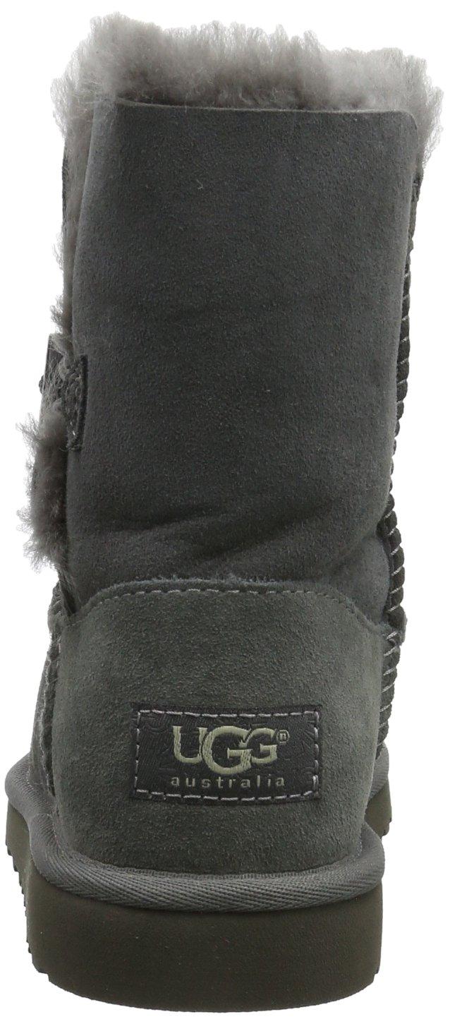 Ugg Australia Bailey Button Girls' Boots, gris (Grigio (grey)), 9 UK Child by UGG (Image #2)