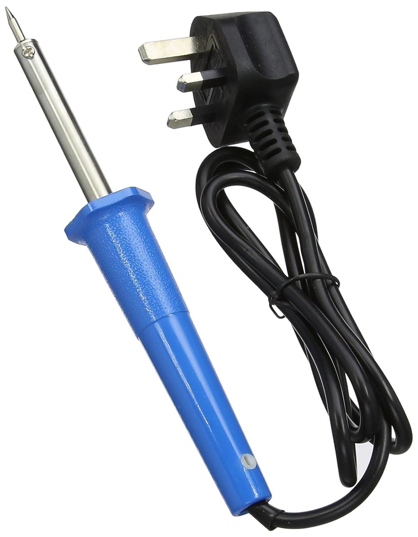 Silverline 629057 - Soldador (25 W) color azul: Amazon.es: Industria, empresas y ciencia