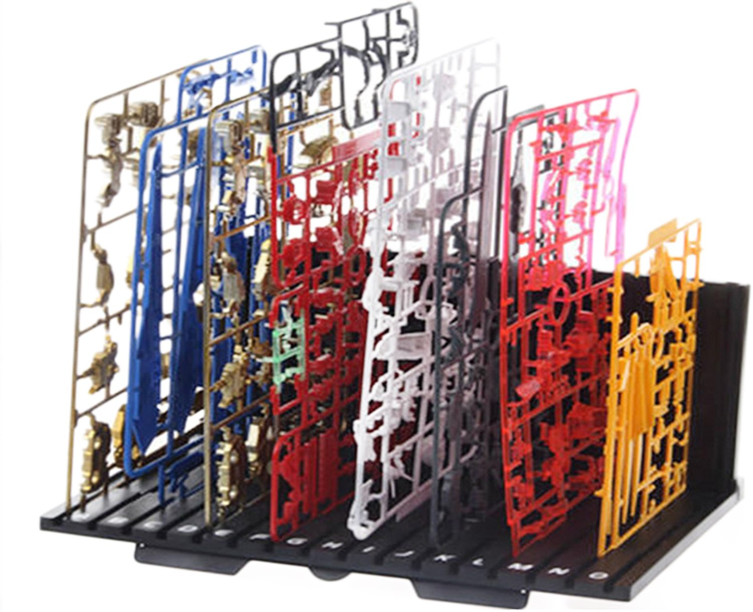 (Lokilif) Runner stand for plastic model (parts L-shaped folding type folding type compact storage)