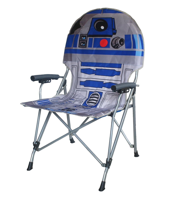Amazon.com: Star Wars R2D2 Full Size Folding Hard Armrest Chair ...