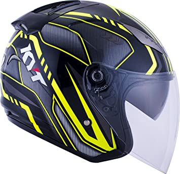 Amazon.es: KYT yshl0009.3 Casco Moto, multicolor, S
