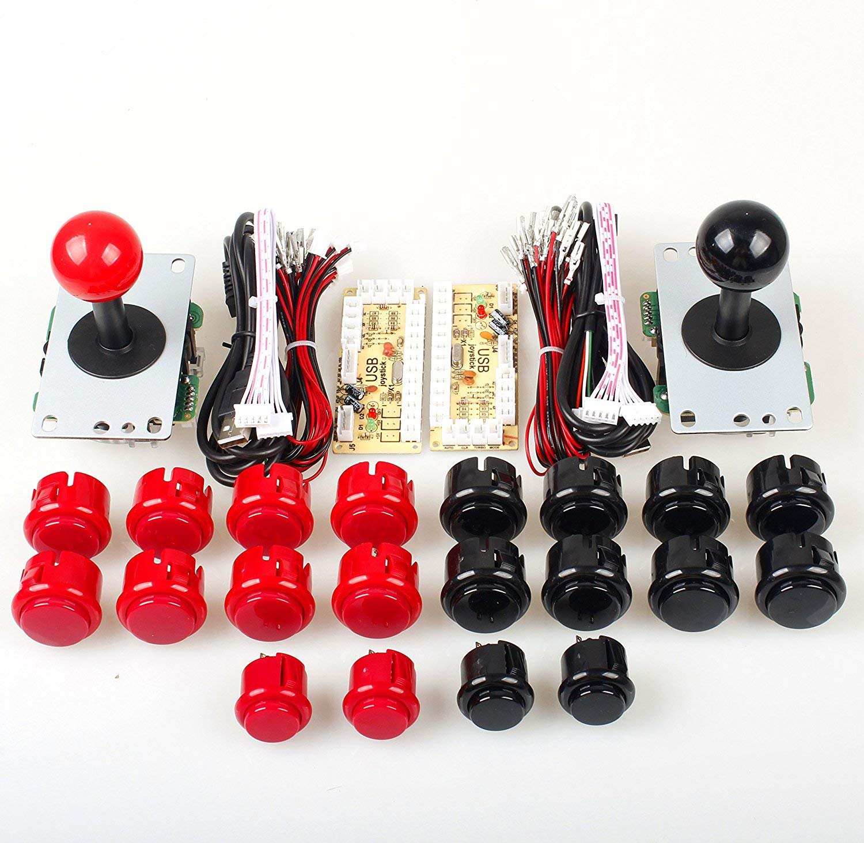Amazon com: Marwey Arcade Kits DIY Controller USB Encoder to PC