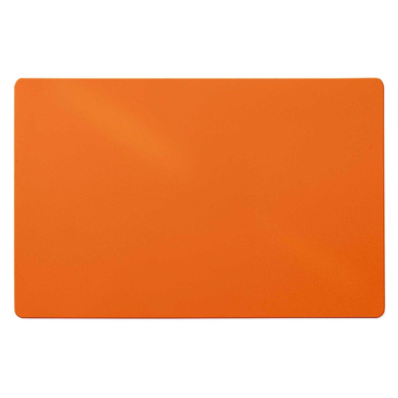 75x120 cm Office Marshal Tappeto salvapavimento Pavimenti duri Polipropilene Arancione Salvaparquet