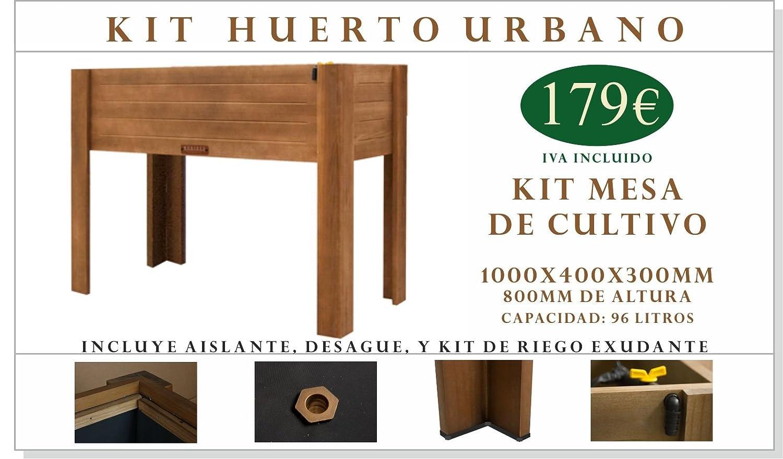 Kit Mesa de Cultivo 1000x400x800mm: Amazon.es: Jardín