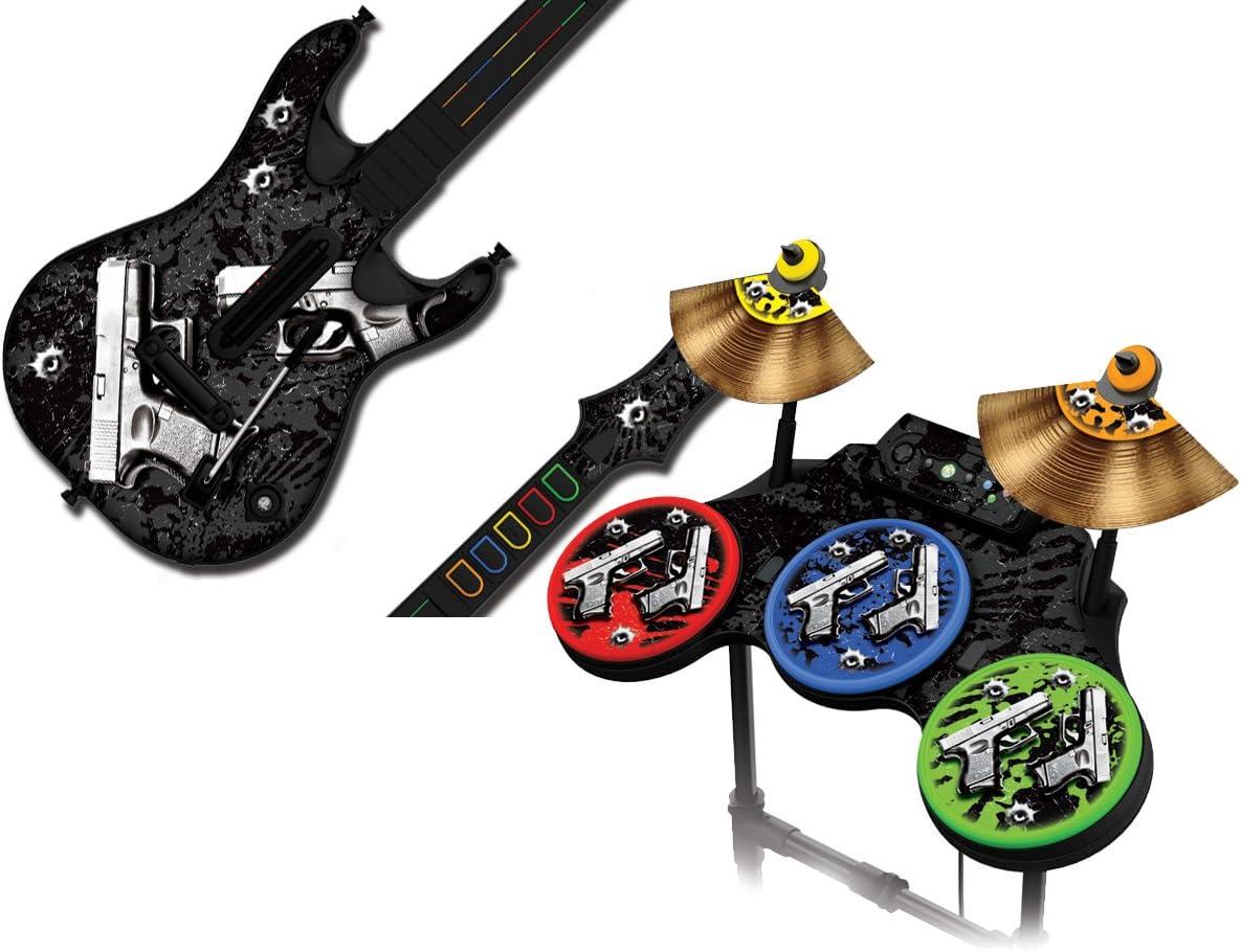 247Skins - Juego de skins para guitarra y batería de Guitar Hero 4 ...