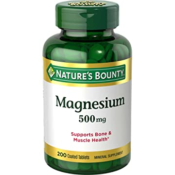 reliable Nature's Bounty Magnesium