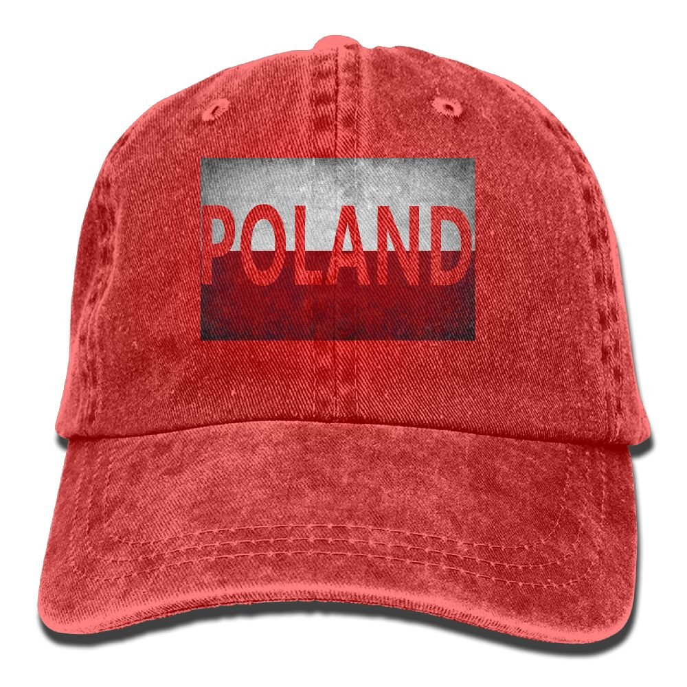 2871f1e0cb114 Arsmt Poland Flag Polish Denim Hat Adjustable Casual Baseball Cap