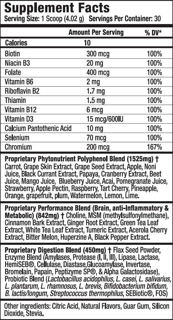 Amazon.com: Essential Reds - Complemento de polifenol ...