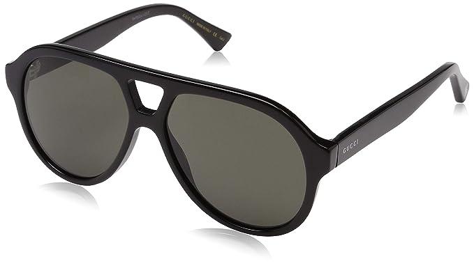 7de710e09d7 Gucci Unisex s GG0159S 001 Sunglasses